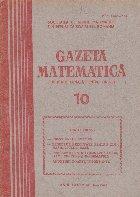 Gazeta Matematica, 10/1980