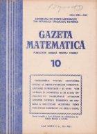 Gazeta matematica 10/1981