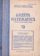 Gazeta matematica, 12/1981