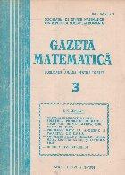 Gazeta Matematica, 3/1981