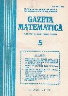 Gazeta Matematica, 5/1981