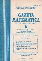 Gazeta Matematica, 6/1981