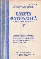 Gazeta Matematica, 7/1981