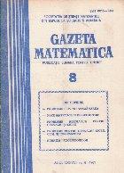 Gazeta Matematica, 8/1981