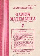 Gazeta Matematica, 7/1982