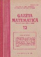 Gazeta Matematica, 12/1982