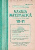 Gazeta matematica 11/1983