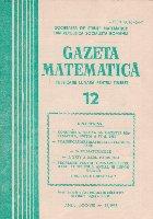 Gazeta Matematica, 12/1983