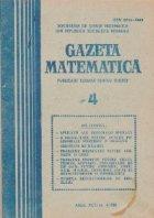 Gazeta Matematica, Aprilie 1988