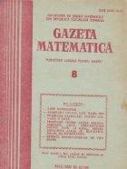Gazeta Matematica August 1989