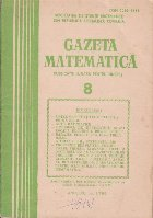 Gazeta matematica,  August 1986