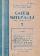 Gazeta Matematica, Februarie 1988