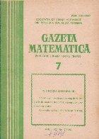Gazeta matematica,  Iulie 1986