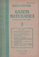 Gazeta Matematica Martie 1986