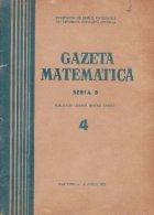 Gazeta Matematica, Seria B, Aprilie 1972