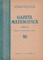 Gazeta Matematica, Seria B, Octombrie 1972