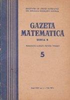 Gazeta Matematica, Seria B, Mai 1974