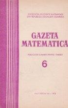 Gazeta Matematica Seria Iunie 1975