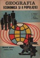 Geografia economica populatiei Manual pentru