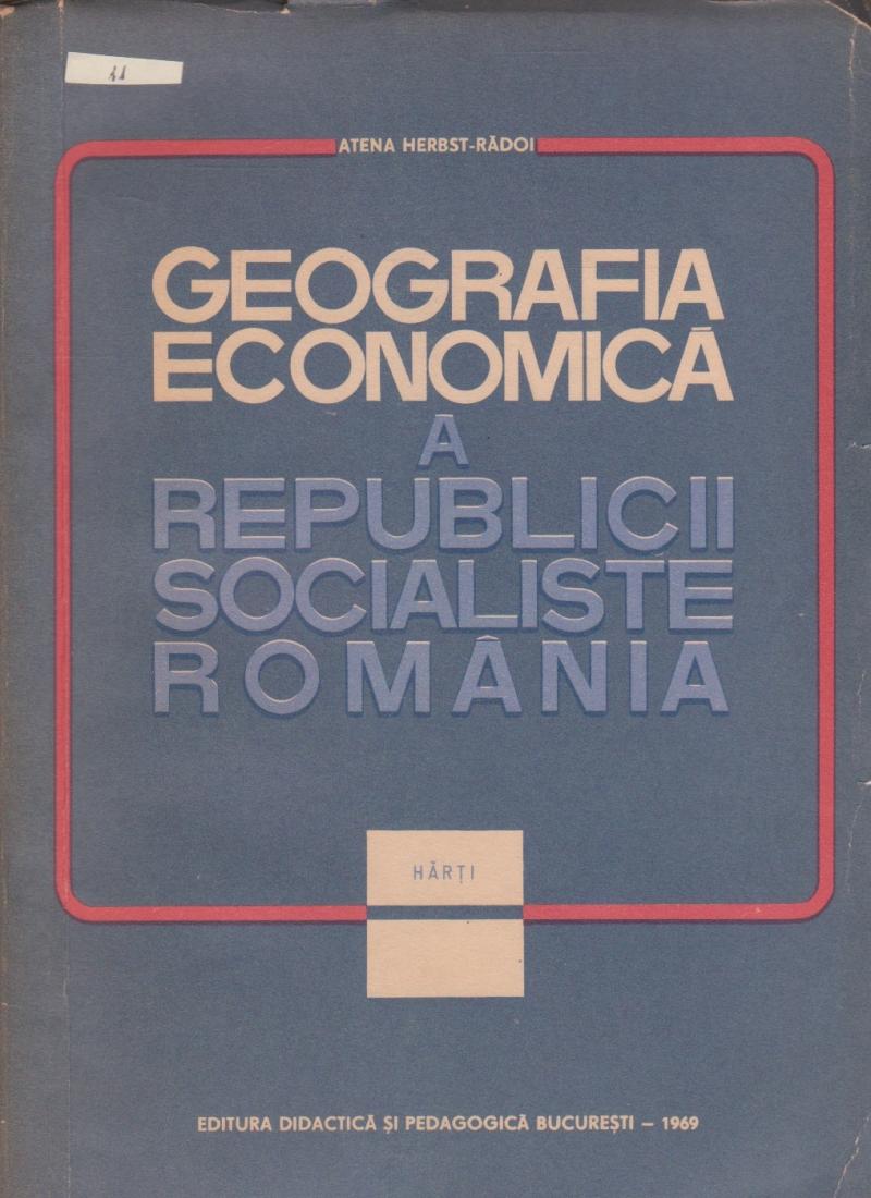 Geografia economica a Republicii Socialiste Romania - harti