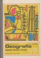 Geografia Republicii Socialiste Romania, Manual pentru clasa a VIII-a