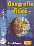 Geografie fizica, Manual pentru clasa a IX-a