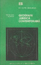 Geografie Juridica Contemporana - Introducere in teoria marilor sisteme de drept