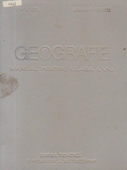 Geografie, Manual pentru clasa a VI-a