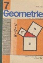 Geometrie, Manual pentru clasa a VII-a