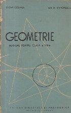 Geometrie Manual pentru clasa VIII