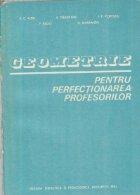 Geometrie pentru perfectionarea profesorilor