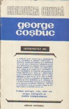 George Cosbuc interpretat de...