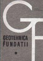 Geotehnica Fundatii