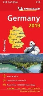 Germany 2019 - Michelin National Map 718