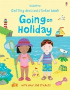 Getting dressed sticker book: Going on holiday