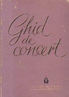 Ghid de concert