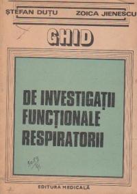 Ghid de investigatii functionale respiratorii