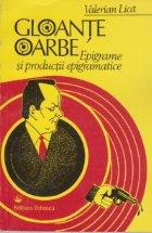 Gloante oarbe - Epigrame si productii epigramatice