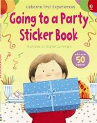 Going to a party sticker book
