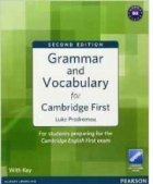 Grammar and Vocabulary for Cambridge First with Key and Access to Longman Dictionaries Online (Grammar and  vocabulary)
