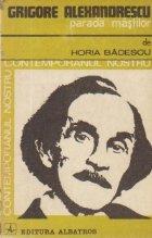 Grigore Alexandrescu Parada mastilor