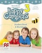 Happy Campers. Student Book, Workbook. Clasa a III-a