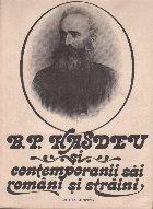 B. P. Hasedu si contemporanii sai romani si straini (Corespondenta primita), Volumul I