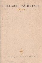 I. Heliade Radulescu - Opere II - Poezii (Traduceri)