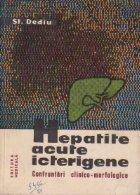 Hepatite acute icterigene Confruntari clinico