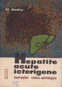 Hepatite acute icterigene. Confruntari clinico - morfologice