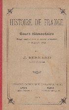 Histoire de france - Cours elementaire