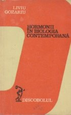 Hormonii in biologia contemporana