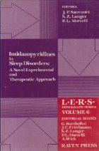 Imidazopyridines in Sleep Disorders: A Novel Experimental and Therapeutic Approach