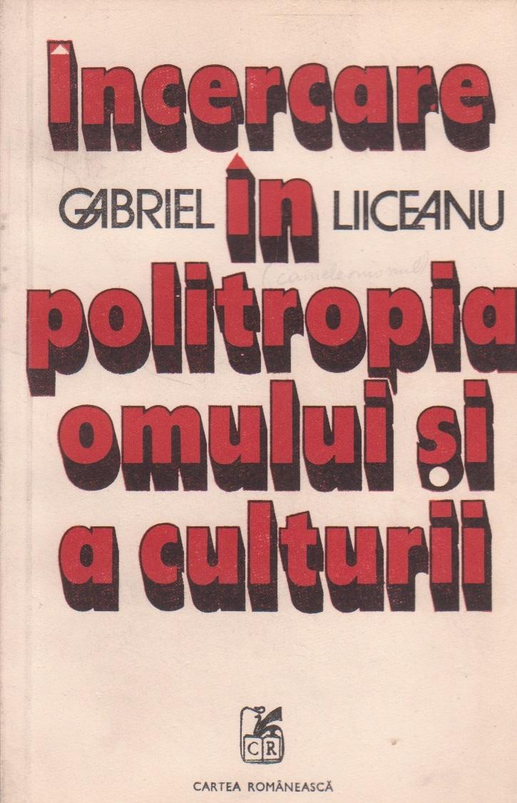 Incercare in politropia omului si a culturii